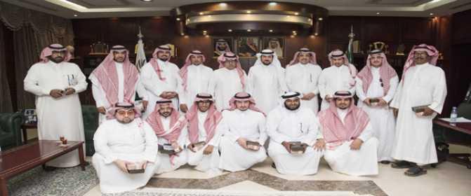 مدير جامعة الأمير سطام بن عبد العزيز يلتقي إعلاميي الخرج