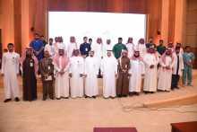 مدير جامعة الأمير سطام في لقاء مفتوح مع طلاب وطالبات الجامعة